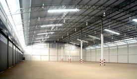 Warehouse inside Stock Images
