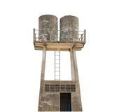 Wasserbehälter lokalisiert auf Hintergrund Lizenzfreies Stockbild