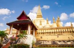 Wat Pha-That Luang Stock Photography
