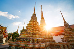Wat Pho in Bangkok, Thailand Royalty-vrije Stock Afbeelding