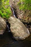 Water ride at Gualba Gorg Negre. Montseny, Spain. Royalty Free Stock Photos