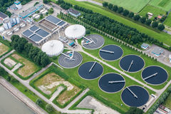 Water Treatment Plant Stock Photography