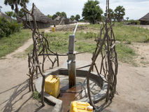 Water well in Africa Stock Images