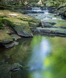 Waterfall and Peaceful Pool Stock Images