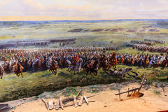 Waterloo battle memorial Royalty Free Stock Images