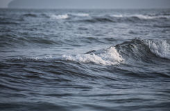 Wave with foam Royalty Free Stock Photography