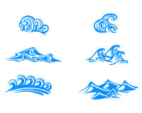 Wave graphic ornament Royalty Free Stock Photography