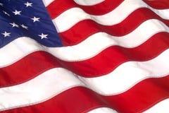 WAVING AMERICAN FLAG Royalty Free Stock Image