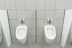 WC for men Stock Image