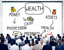Wealth Money Possession Investment Growth Concept Stock Photo