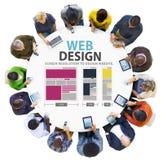 Web Design Network Website Ideas Media Information Concept Stock Images