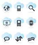 Web icon set Royalty Free Stock Photography