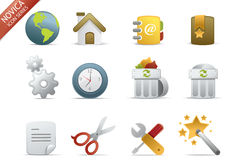 Web Icons - Novica Series #1 Royalty Free Stock Images