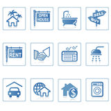Web icons : Real Estate 1 Royalty Free Stock Image