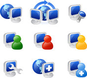 Web and internet icon Stock Images