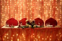 Wedding arrangement Stock Photography