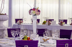 Wedding arrangement Stock Image