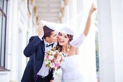Wedding in autumn Stock Photos