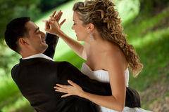 Wedding dance Stock Photo