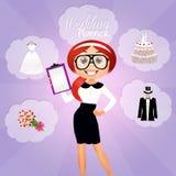 Wedding planner Stock Photography