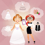 Wedding planner Stock Images