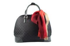 Weekend getaway bag Stock Photo