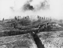 WESTERN FRONT Royalty Free Stock Image