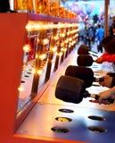 A whacking game at carnival Royalty Free Stock Photos