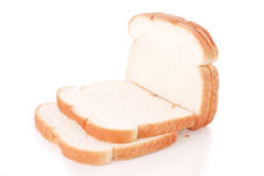 White Bread Royalty Free Stock Image