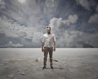 White desert Stock Image