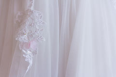 White dress lace Stock Photography