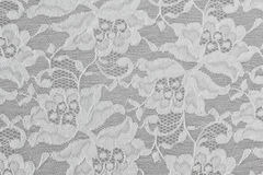 White Floral Lace Royalty Free Stock Photography