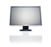Wide LCD monitor Stock Image