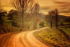 Wiejska droga w Australia Obraz Royalty Free