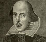 William Shakespeare portrait Royalty Free Stock Image