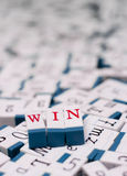 Win message Royalty Free Stock Photos