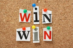 Win Win Situation Royalty Free Stock Image