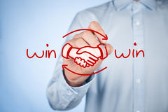 Win win strategy Royalty Free Stock Image