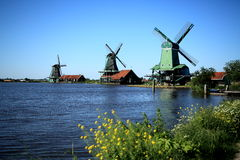 Windmill in Holland Royalty Free Stock Photos