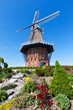 Windmill in Holland Michigan at Springtime Royalty Free Stock Image