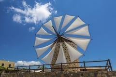 Windmill in Kos island Greece Stock Photography
