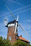 Windmill in Norfolk, England Stock Photo