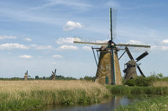 Windmills from Holland Royalty Free Stock Image