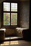 Window in a castle Stock Photo