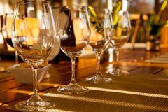 The Wine Tasting Royalty Free Stock Images