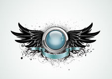 Winged insignia Stock Photography