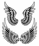 Wings Set Vector Royalty Free Stock Image