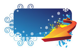Winter banner Royalty Free Stock Photo