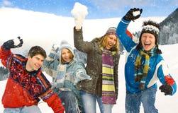 Winter fun 18 Stock Image