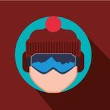 Winter-Sportdesign Stockfoto